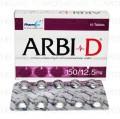 Arbi D Tab 150mg/12.5mg 10's