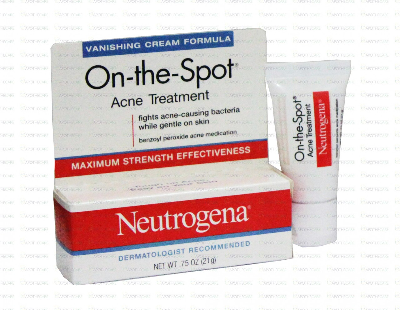 Neutrogena On The Spot Acne Treatment Cream 21g