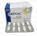 Arinac Forte Tab 400mg/60mg 10x10's