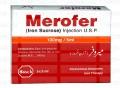 Merofer Inj 100mg 5Ampx5ml