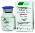 Quinoflox Inf 100mg 1Vialx50ml