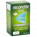 Nicorette Nicotine Gum 2mg Original 105's