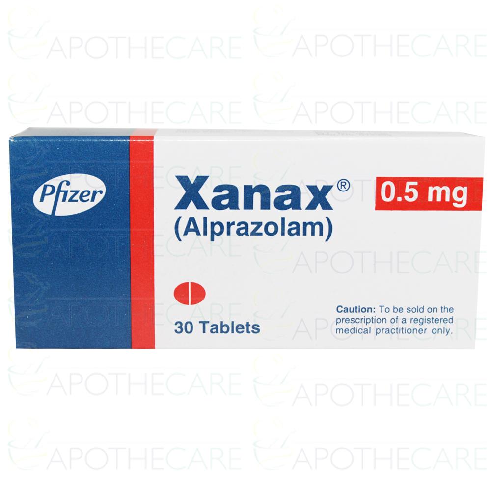 Xanax Tab 0 5mg 30 S