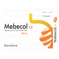 Mebecol 200mg Cap SR 10's
