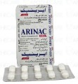 Arinac Forte Tab 400mg/60mg 1x10's