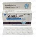 Ascard-150 Tab 150mg 3x10's