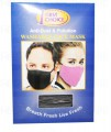 First Choice Anti Dust Washable Face Mask (Black) 1x1's