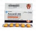Ascard-300 Tab 300mg 3x10's