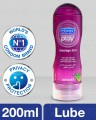 Durex Play Lube 2 in1 Purple 200ml