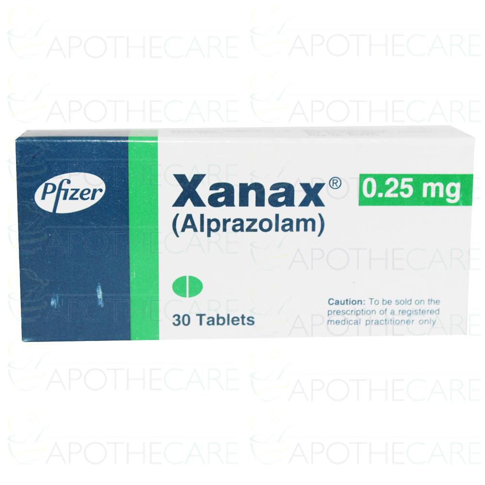 Xanax Tab 0 25mg 30 S