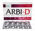 Arbi D Tab 300mg/12.5mg 10's