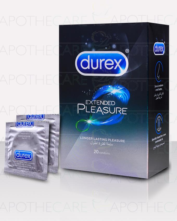 Durex Extended Pleasure 20s Economy