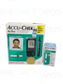 Package of ACCU-CHEK Active New MG/DL Gen 4 Kit 1's  +  Strips 25's
