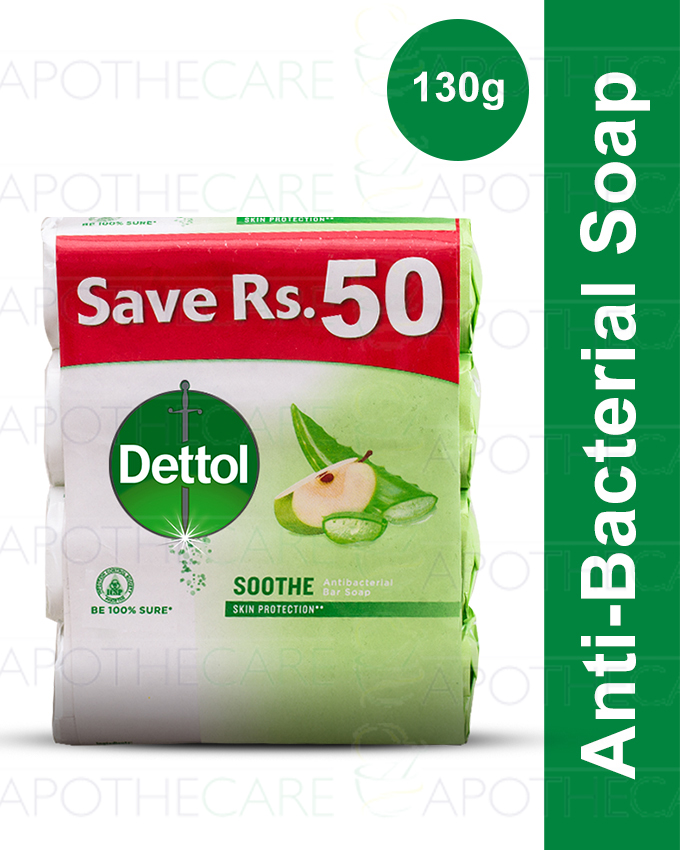 Buy 4 Dettol soaps 130 gm Save Rs 50 Soothe