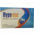Hyporose Tab 20mg 10's