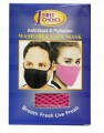 First Choice Anti Dust Washable Face Mask (Pink) 1x1's